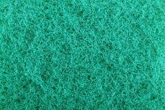 Cyan-blaue abschleifende Schwammbeschaffenheit Stockbild