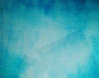 Cyan-blauer Gewebehintergrund. Stockfoto