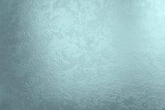Cyan-blauer Glashintergrund lizenzfreies stockfoto