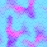 Cyan blue pink mermaid scale  background. Neon iridescent background. Fish scale pattern. Seamless pattern swatch. Holographic gradient. Mermaid tail scale Royalty Free Stock Photography