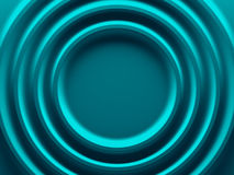 Cyan blue radial background picture. Stock Photos