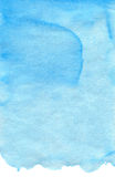 Cyan blue watercolor texture Stock Image