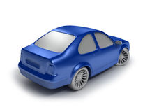 Cyan Car Royalty Free Stock Images