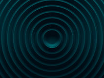 Cyan circular abstract background. Can Royalty Free Stock Photography
