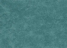 Cyan color artificial leather pattern. Royalty Free Stock Photos