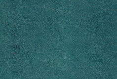 Cyan color artificial leather pattern. Royalty Free Stock Photography