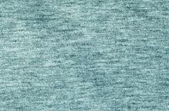 Cyan color knitted cloth pattern. Royalty Free Stock Images