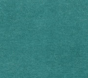 Cyan color leather surface. Royalty Free Stock Photography