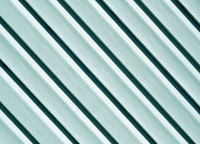 Cyan color pvc siding wall. Abstract background and texture for design royalty free stock images