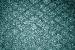 Cyan color textile carpwt patttern. Abstract background and texture for design royalty free stock photos