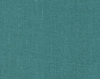 Cyan color textile cloth texture. Royalty Free Stock Photography