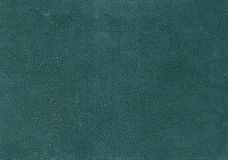 Cyan color weathered leather pattern. Abstract background and texture for design Stock Images