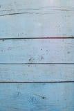 Cyan drewniany tło Obrazy Royalty Free