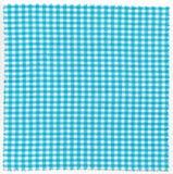 Cyan fabric. Cyan checker fabric cloth useful as a background stock photography