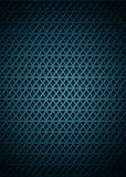 Cyan pattern. Metal cyan pattern with triangles shapes Stock Images
