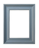 Cyan Picture frame royalty free stock photo