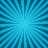 Cyan ray burst design background Royalty Free Stock Images