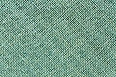 Cyan sack cloth texture. Stock Photography