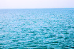 Cyan sea Royalty Free Stock Image