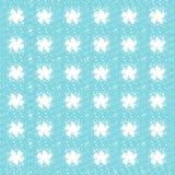 Cyan spiral patterns Stock Image