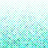 Cyan square pattern background design Royalty Free Stock Image