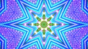 cyan stjärnasignal för bakgrund Royaltyfri Foto