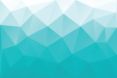 Cyan triangles Royalty Free Stock Photography