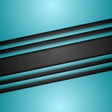 Cyan turquoise corporate art vector design Royalty Free Stock Photo