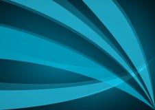 Cyan vågbakgrundsdesign Arkivfoto