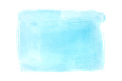 Cyan watercolor background Stock Photos