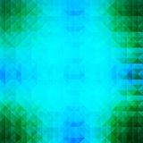 CyanGreenAbstract Imagem de Stock Royalty Free