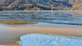 Cyanide lake at Geamana Romania Stock Photos