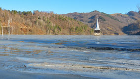 Cyanide See bei Geamana Rumänien Lizenzfreie Stockfotos