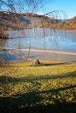 Cyanidemeer in Geamana Roemenië Royalty-vrije Stock Fotografie