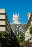 Cybele宫殿,马德里市议会 免版税库存照片