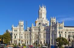 Cybele Palace, Madrid Royalty Free Stock Image