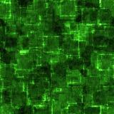 cyber绿色grunge 皇族释放例证