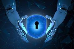 Cyber证券概念 免版税图库摄影
