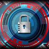Cyber证券概念 图库摄影