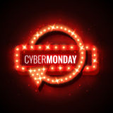 Cyber-Δευτέρα Στοκ Εικόνες