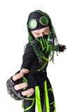 cyber εκφραστικός τύπος goth Στοκ Εικόνα