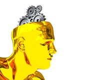 cyber мозга Стоковое Изображение