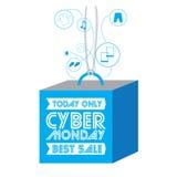 Cyber понедельник Стоковая Фотография