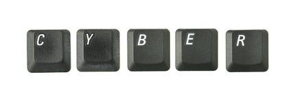 CYBER Imagem de Stock