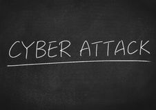 Cyber attack Stock Photography