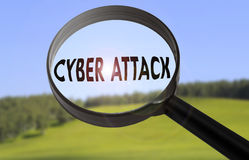 Cyber attack Royalty Free Stock Images