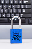 Cyber Attack Protection Royalty Free Stock Photos