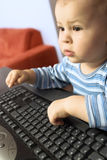 Cyber baby Royalty Free Stock Photo