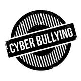 Cyber Bullying rubber stamp Stock Photography