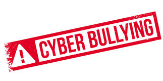 Cyber Bullying rubber stamp Royalty Free Stock Image